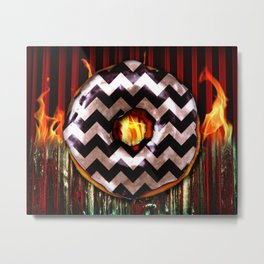 Donut From Another Place Metal Print