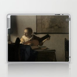 "Johannes Vermeer ""Woman with a Lute near a Window"" Laptop & iPad Skin"