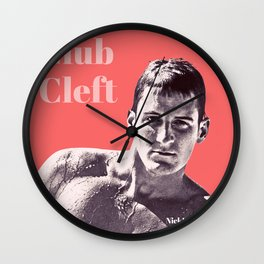 Club Cleft Wall Clock
