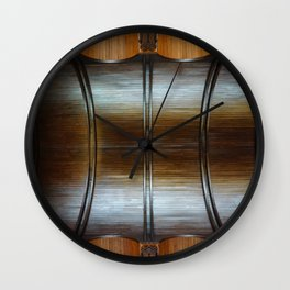 Wooden Perspectives Wall Clock
