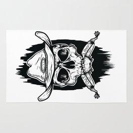 Outlaw's Skull Rug