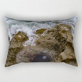 when water meets rock Rectangular Pillow