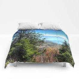 Blue Ridge Mountains North Carolina Comforters