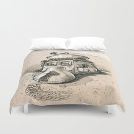 Coffee House Duvet Cover