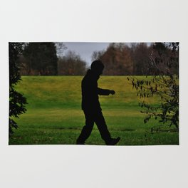 A Walk In The Dark  Rug