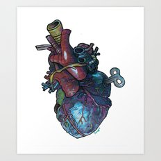 Old Heart. Art Print