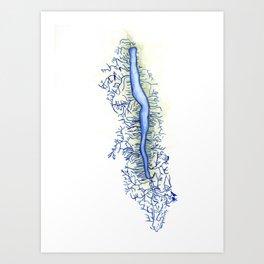 Seneca Lake Art Print