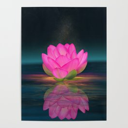 Floating Into Nothingness Poster