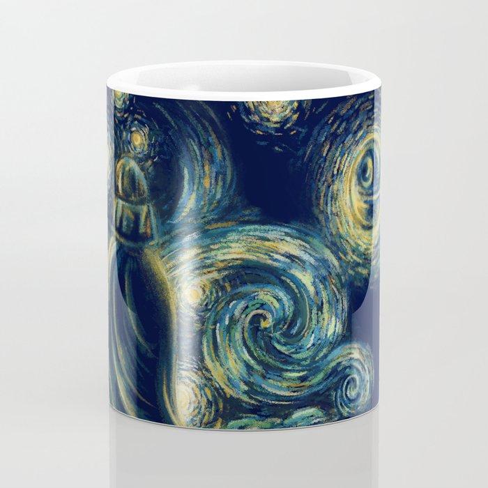 Death Starry Night Coffee Mug