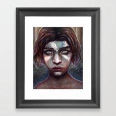 Rue Framed Art Print