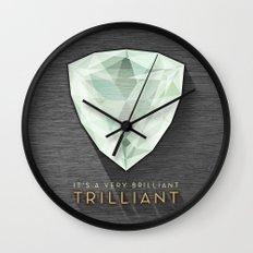 Trilliant Wall Clock