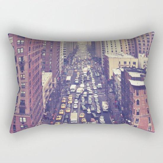 flying over first... (colour) Rectangular Pillow