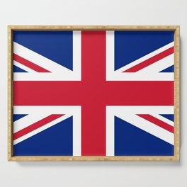 UK Flag Union Jack Serving Tray