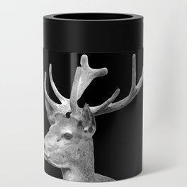 Deer Black Can Cooler