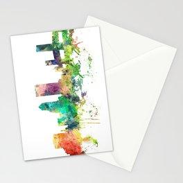 Jacksonville, Florida skyline SP Stationery Cards