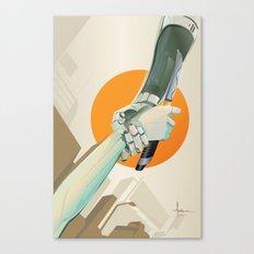 SERVITUDE Canvas Print