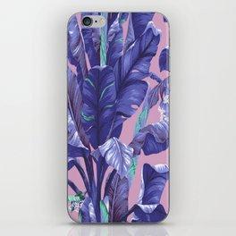 Banana Leaf love iPhone Skin
