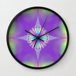 The Jewel in the Crown Wall Clock