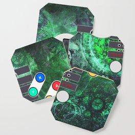 Classic Steampunk Game Controller Coaster