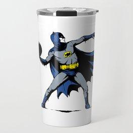 Bat Throwing Bomb Travel Mug