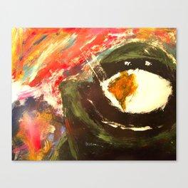 Bomb Suit Visions Canvas Print