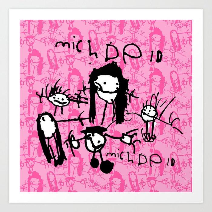 0014 Art Print