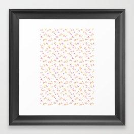 Triangles#1 Framed Art Print