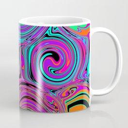 Trippy Psychedelic Swirls Coffee Mug