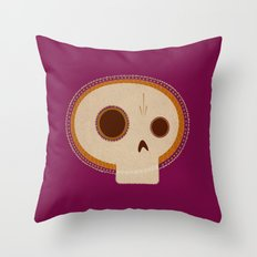 day of death / día de los muertos Throw Pillow