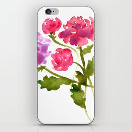 Floral No. 1 iPhone Skin