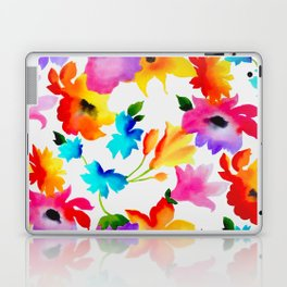 Dancing Floral Laptop & iPad Skin