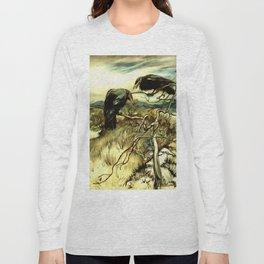 The Two Crows Long Sleeve T-shirt