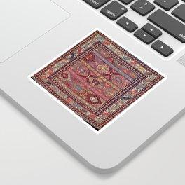 Shahsavan  Azerbaijan Northwest Persian Bag Print Sticker