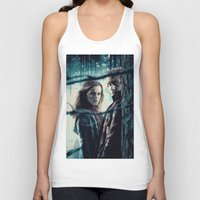 hermione Tank Tops featuring H. Potter - Hermione & Ron by Juniper Vinetree