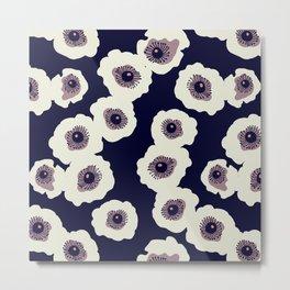 Cloud Flower Metal Print