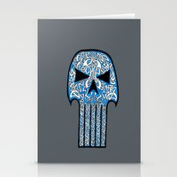 celtic Stationery Cards featuring Celtic Punisher by ronnie mcneil