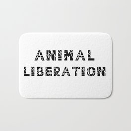 Animal Liberation - Vegan Print Bath Mat