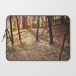 Bed of Leaves Laptop Sleeve