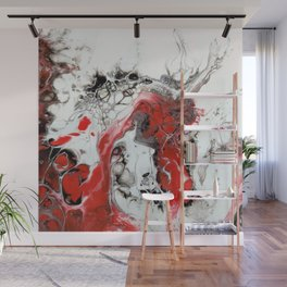 Bloodied Knights Steed Wall Mural