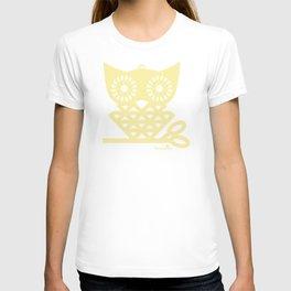 Yellow Hoot T-shirt
