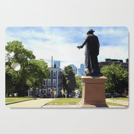 Battle of Bunker Hill, Boston, MA Cutting Board