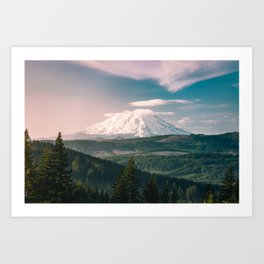 Saints and Sinners - 126/365 Nature Photography Mount St. Helens Art Print