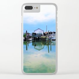 Tangier Island Ruins Clear iPhone Case