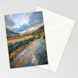 Snowdonia Valley Sunlight Stationery Cards