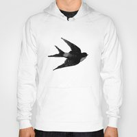 swallow Hoodies featuring swallow by consequence