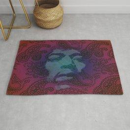Psychedelic Hendrix Rug