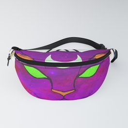 the hellcat - purple Fanny Pack