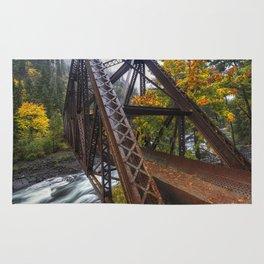 Autumn and Iron Rug