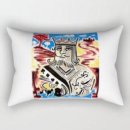 King Of Cards Rectangular Pillow