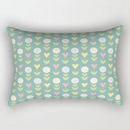 Flower pattern Rectangular Pillow